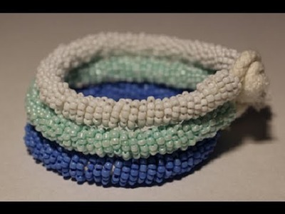 DIY Tory Burch inspired Beaded Bracelet