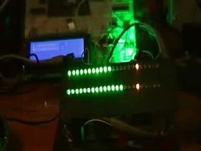 DIY Vu Meters: LED VS LCD