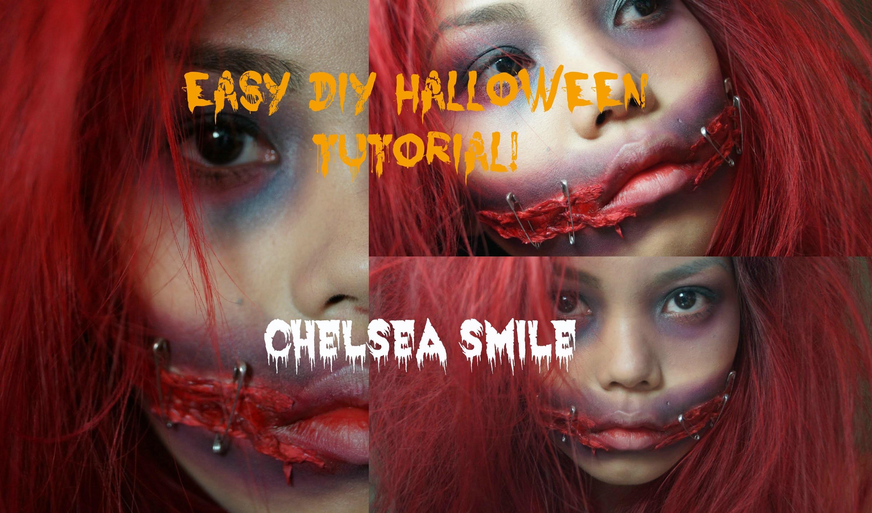 EASY DIY Chelsea Smile Halloween Tutorial!