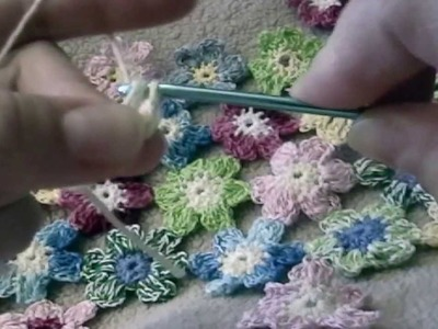 Free Pattern - Crochet Flower Tutorial (KWIATEK)