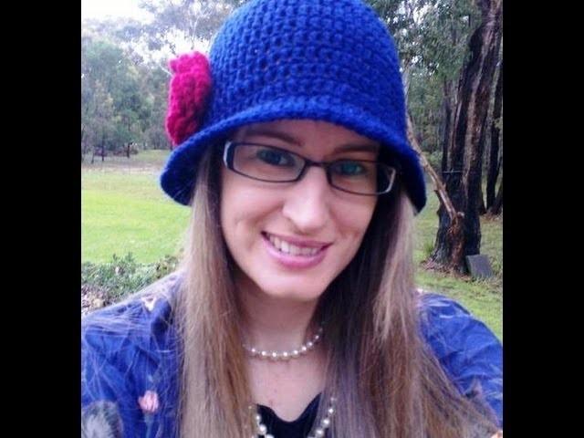 High Tea Crochet Hat Tuorial