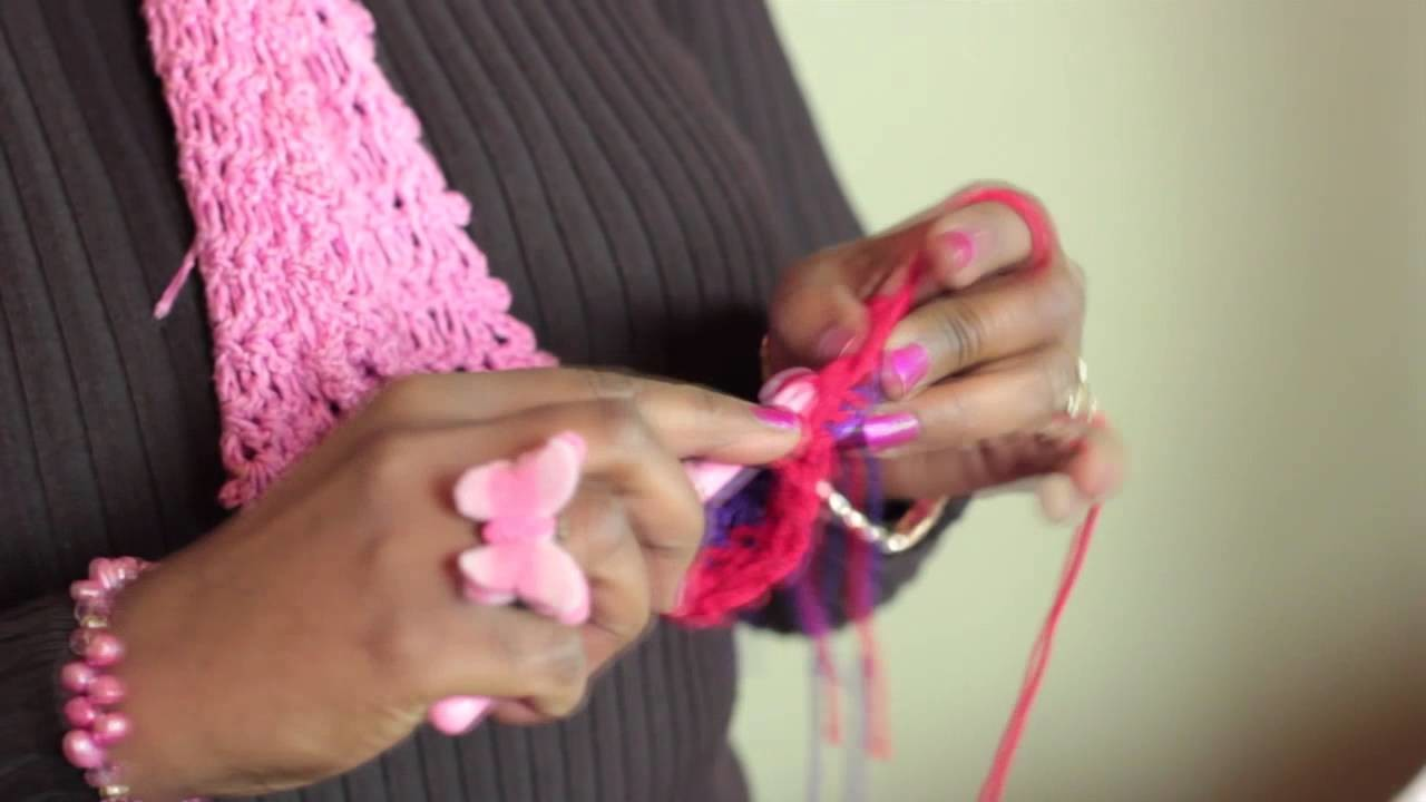 How to Crochet a Blanket in Alternating Colors : Crochet Stitches