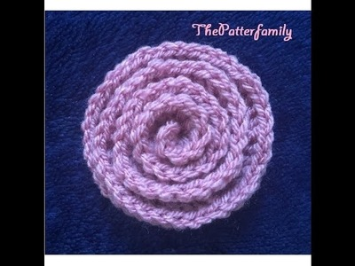 How to Crochet a Flower Pattern #70│by ThePatterfamily