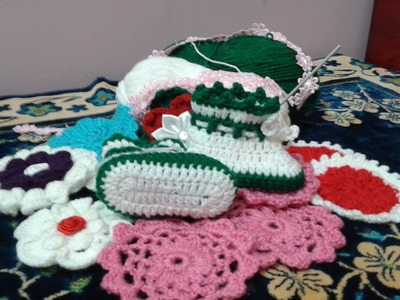 How to Crochet Baby shoes step by step Part 2 (video tutorial )