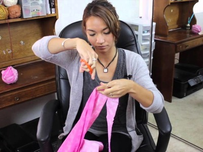 How to Crochet With Cloth : Crochet Projects
