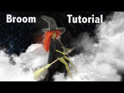 How to Make a Barbie Witch Broom Tutorial