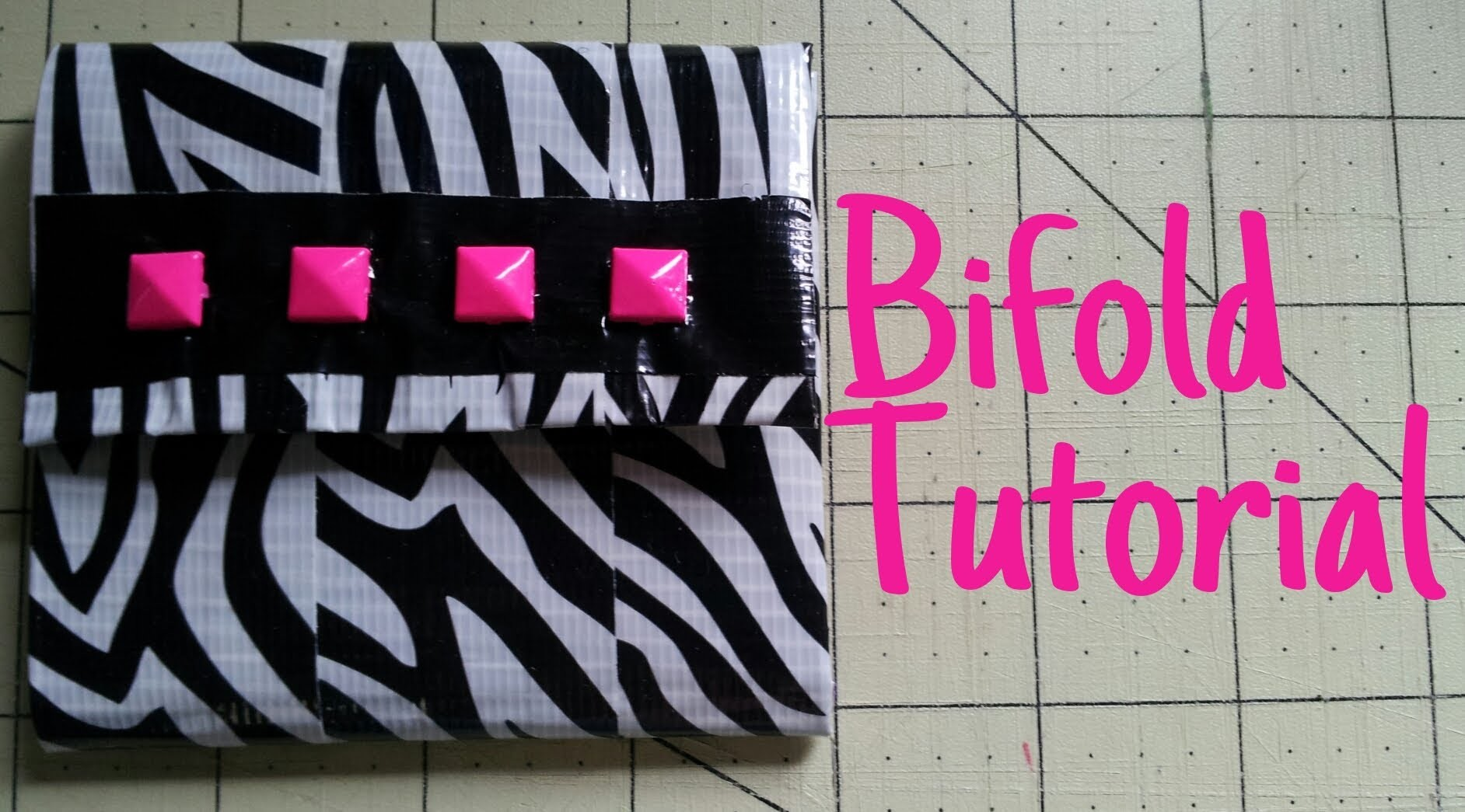 How to make a Bifold with a Flap Tutorial (DIY)