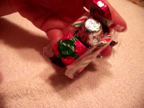 How to make a candy Santa sleigh Christmas craft
