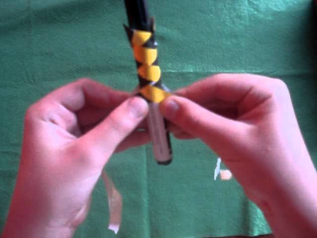 How to make a chinese finger trap easy mode by D&V