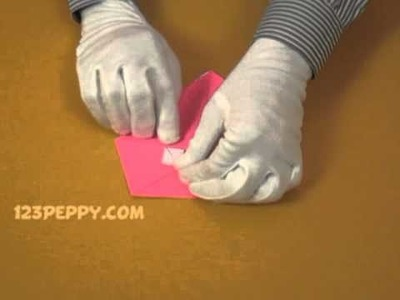 How to Make a Fox mask with Color Papers