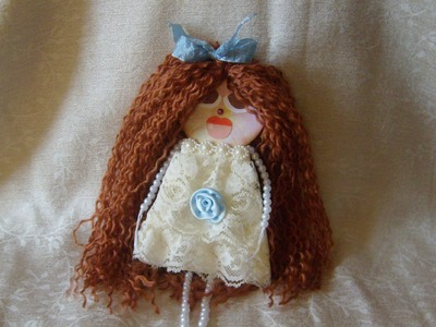 How to Make Lace Dolls How Do I Make a Doll