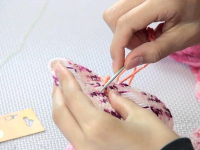 How to Sew a Hole in Wool : Fiber Arts