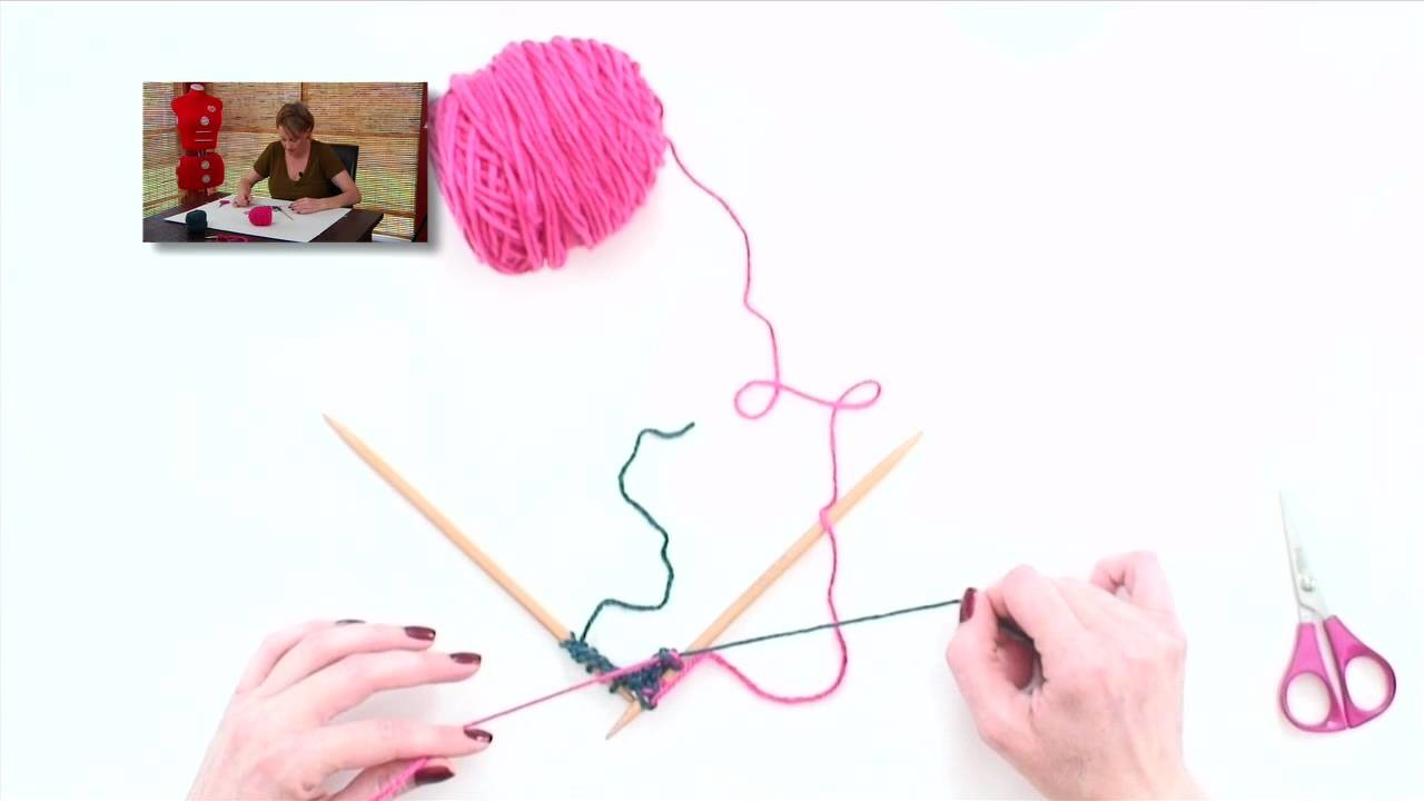 Knitting Help - Changing Colors