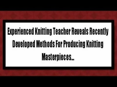 Knitting Sock Patterns Easy