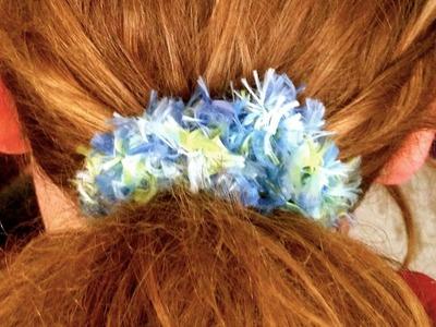 Make a Fun Crochet Hair Scrunchie - DIY Style - Guidecentral