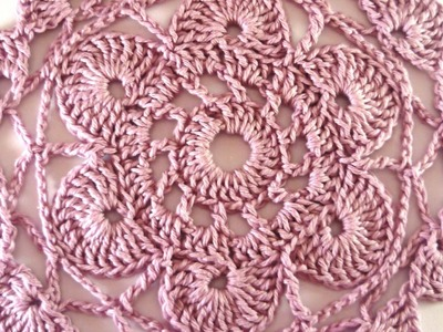 Make a Lovely Lilac Crochet Doily - DIY Crafts - Guidecentral