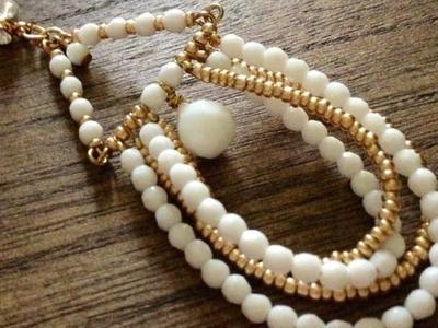 Make Pretty Summer Beaded Earrings - DIY Style - Guidecentral
