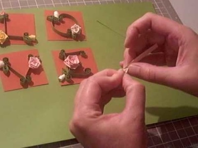 Making Quilled Roses and Leaves