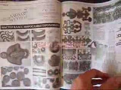 March 2014 Zhurnal MOD 575 Russian crochet n knit patterns from www.duplet-crochet.com