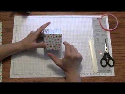 MDS BOX Tutorial: Stamping and Paper Crafts by Stampin Up 2010 Artisan Winner Renee Ballard