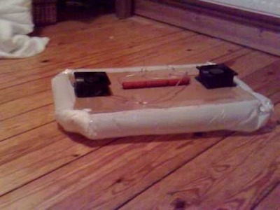 My Home Made Hovercraft