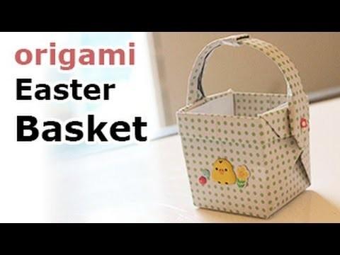 Origami Easter Basket