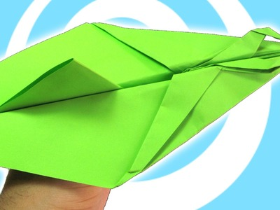 Paper Origami Two Guns Airplane Tutorial (Origamite)