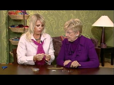 Preview Knitting Daily TV Episode 909 - Bobbles and Baubles