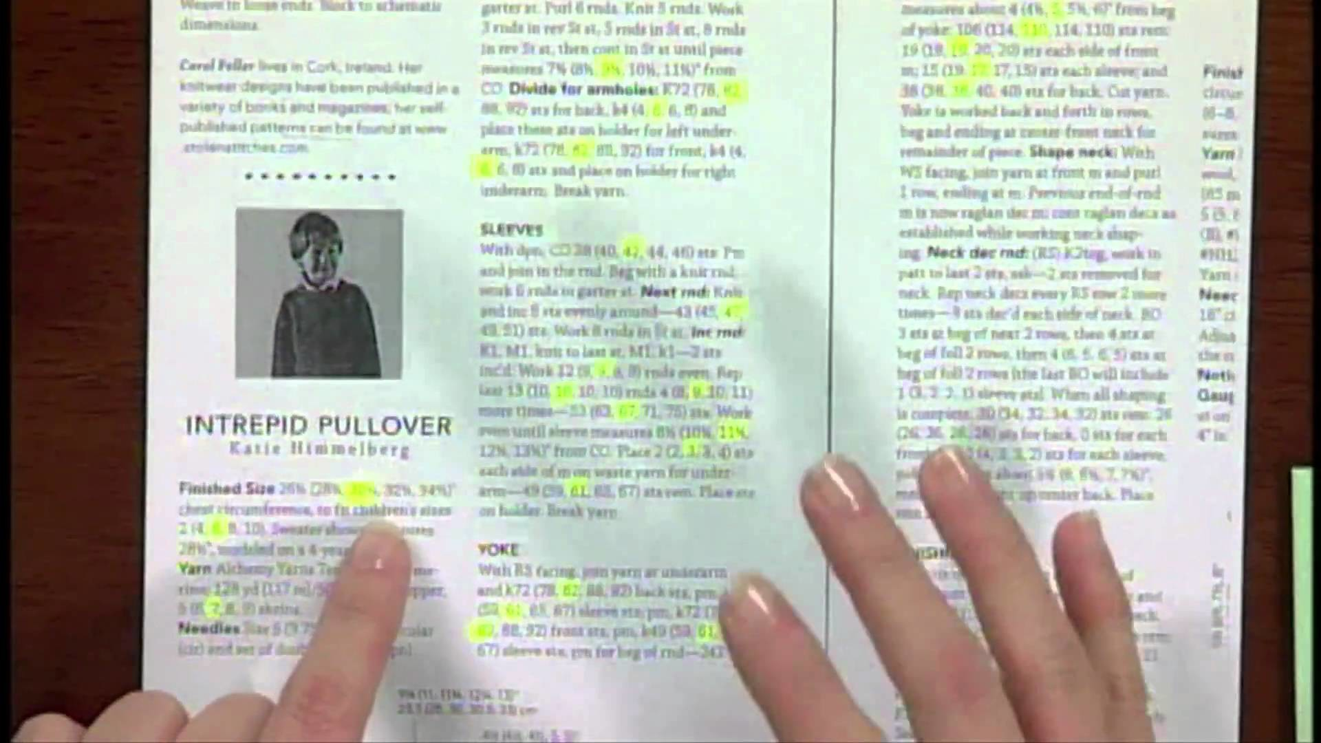 Quick Tip: How to Make a Knitting Pattern Easy to Read, From Knitting Daily TV Episode 601