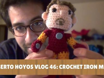 Roberto Hoyos Vlog 46 - Crochet Iron Man!