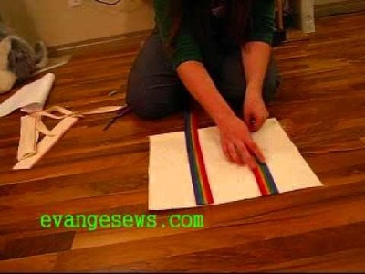 Sewing tutorial: Tote bag