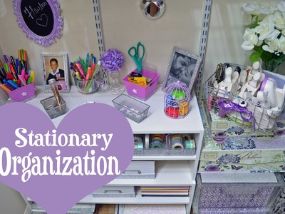 Stationary.Planner Supplies Organization (Plus Mini Closet Tour) 2015 |DivaDollFlawless