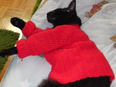 Sweater pullover crochet tutorial