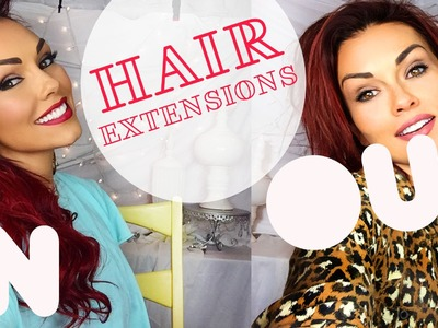Taking My Hair Extensions Out & Extension Review