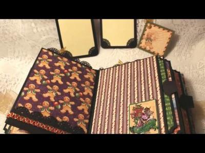 THE NUTCRACKER SWEET Graphic 45 premade envelope scrapbook album