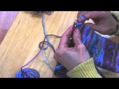 Toe-Up Socks Two-at-a-Time - Stretchy Bind-Off
