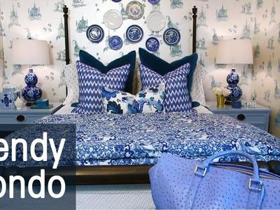 Trendy Small Condo with DIY Decor