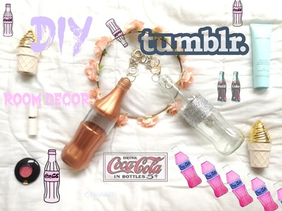 ☾ Tumblr room decor GLASS BOTTLE DIY || ADA ☾