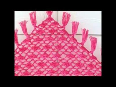 Tyra Triangle Shawl, Free Crochet Pattern