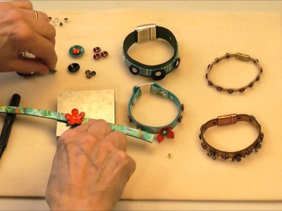 Antelope Beads - How to Use a Nail Setter to Make Jewelry Video Tutorial