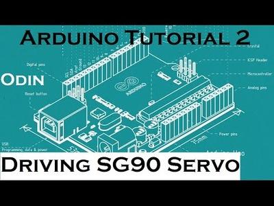 Arduino DIY: TowerPro SG90 Micro Servo Tutorial