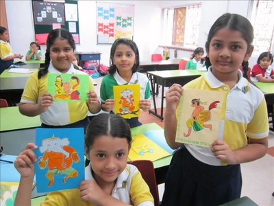 ART AND CRAFT FOR DURGA PUJA