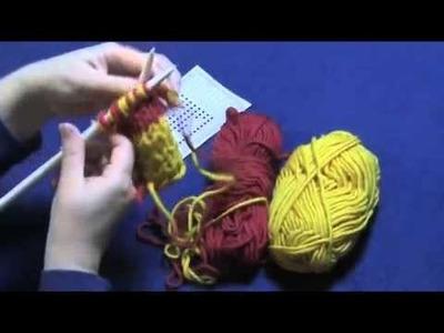 Đan khăn hai lớp, đan khăn hai mặt_Double Knitting, Part 3 of 3    Fixing Mistakes and Binding Off