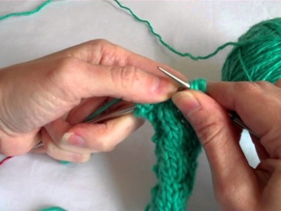 Cabling Without a Needle (Knitting with Worldknits)