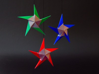 "Christmas Origami Instructions: Star ""Hilli"" (Klaus-Dieter Ennen)"