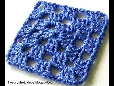Classic Granny Square in One Color