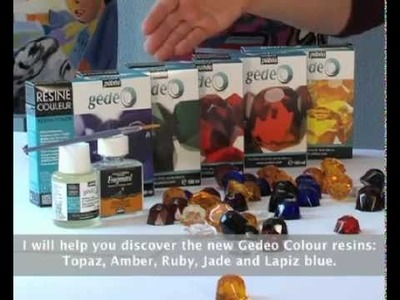 Creating Objects using Gédéo Colour Resin by Pebeo - Craft Tutorial