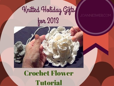 Crochet Flower Tutorial with Single and Double Crochet