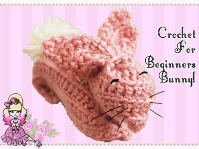 Crochet Tutorial for Beginners: Pink Bunny Rabbit (Reupload!) - Violet LeBeaux