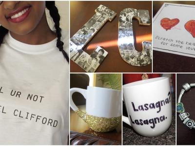 Cute & Easy DIY Tumblr Inspired Gift Ideas!